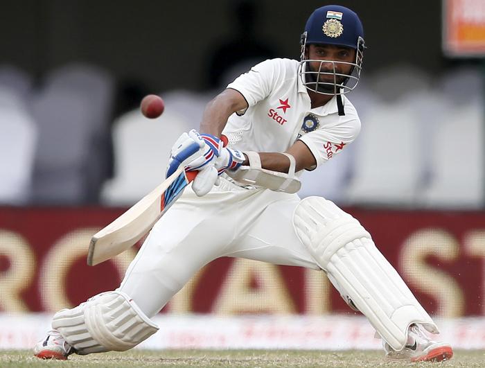 Mumbai player Ajinkya Rahane