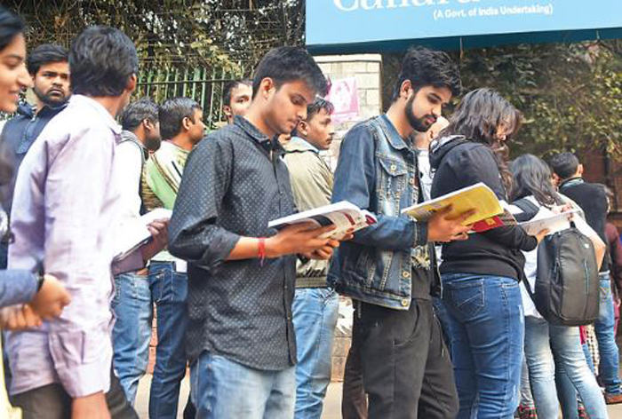 Students resort to studying in ATM lines