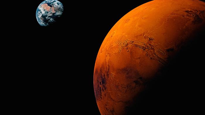 Three Towers On Mars