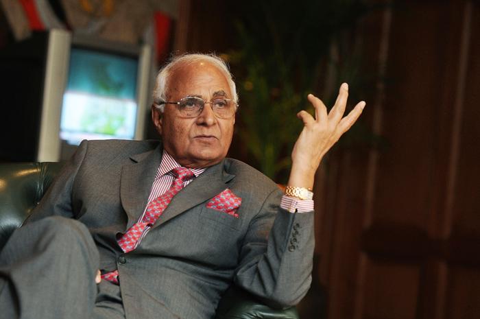 DLF Boss' K P Singh
