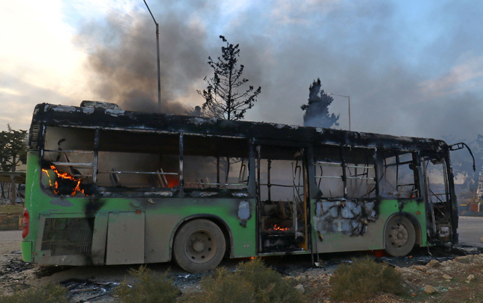 Syria buses
