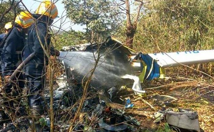 Copter Crashes In North Mumbai