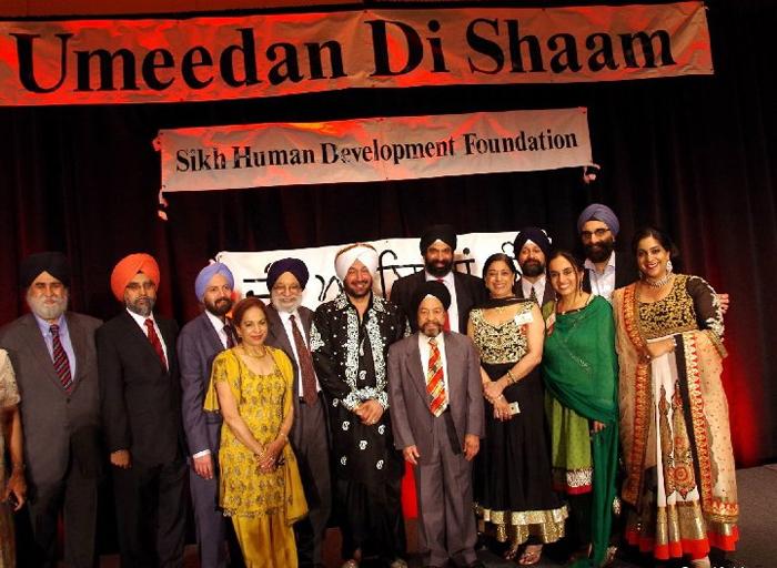 Manpreet Singh, a board member of Sikh Human Development Foundation