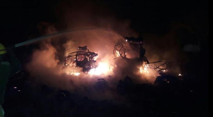 900 Gas Cylinders Blow Up in Karnataka