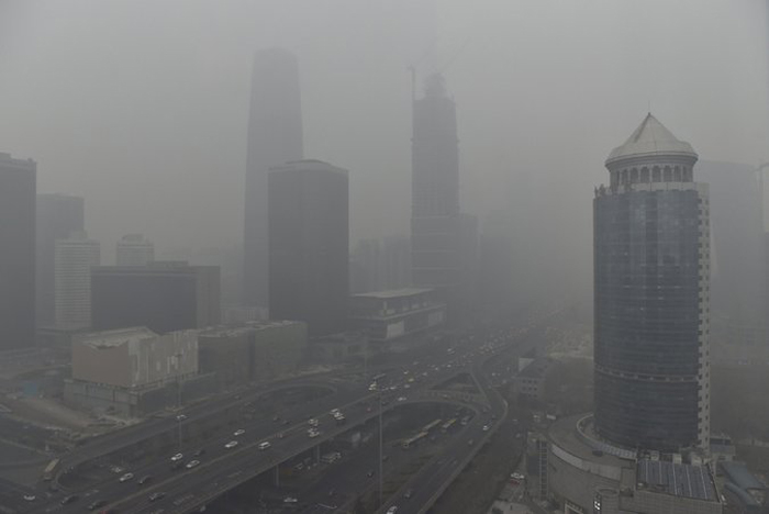 Delhi's Air Is Twice As Polluted As Beijing
