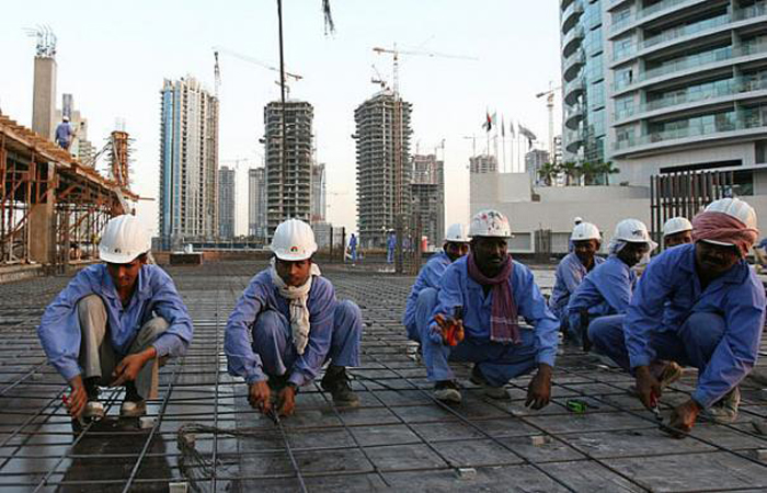 Indian Workers In Kuwait