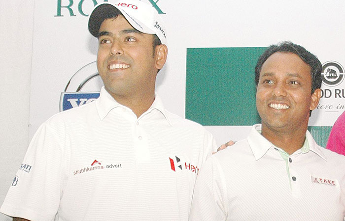 Anirban Lahiri and SSP Chworasia