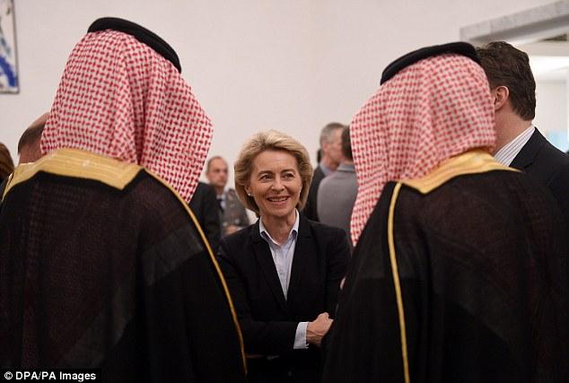 german minister saudi arabia