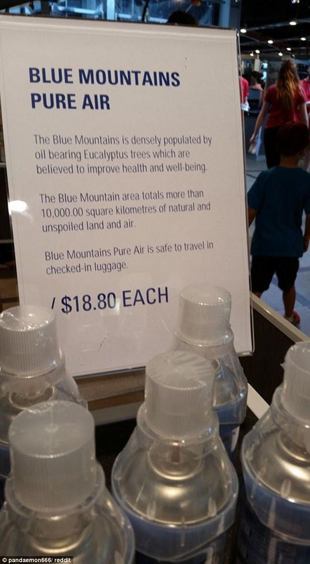 Blue mountain air