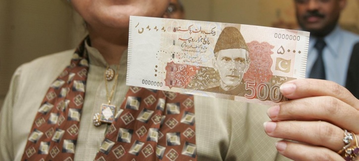 Pakistan note