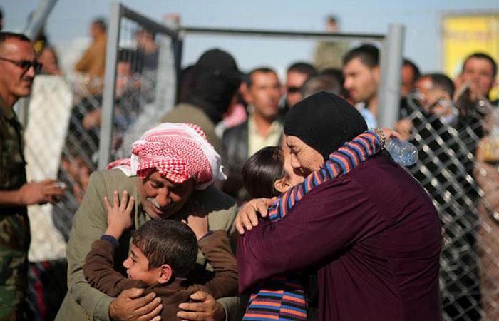 Reunions of iraqi people