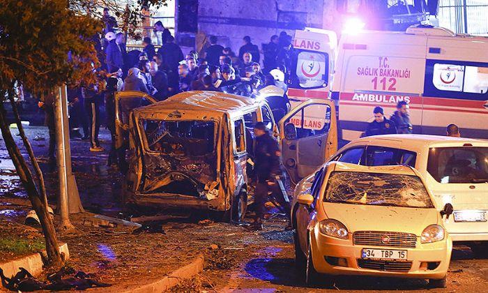Twin Blasts Near Istanbul Football Stadium