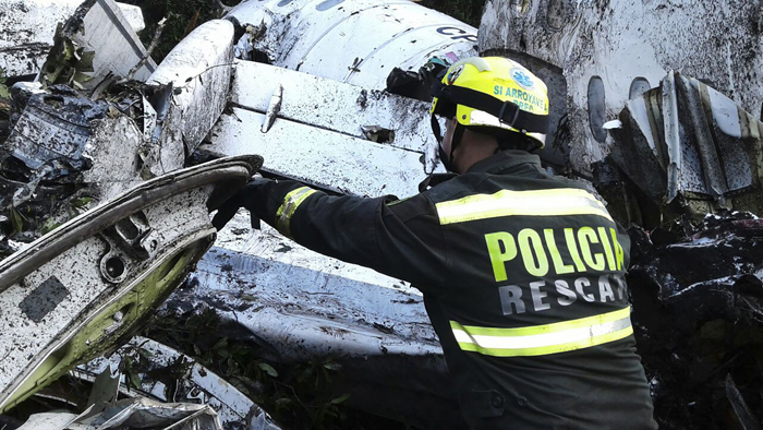 Colombia Crash Pilot Reported He Was Out Of Fuel: Recording