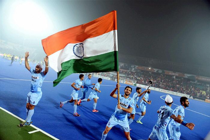 Indian Junior hockey players