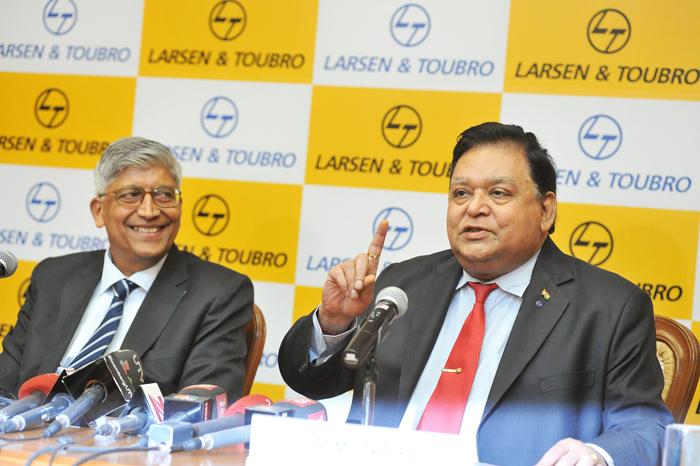 A M Naik of Larsen & Toubro