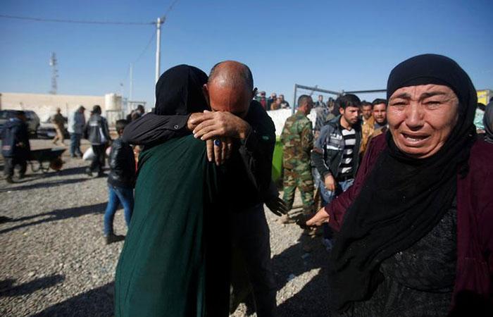 Reunion of Iraqi people