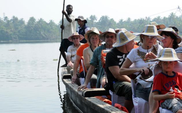 foreign tourist in kerala