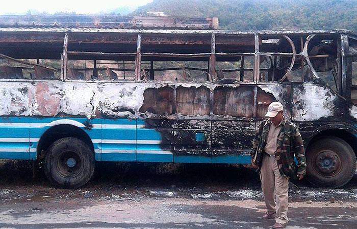 Burn Bus