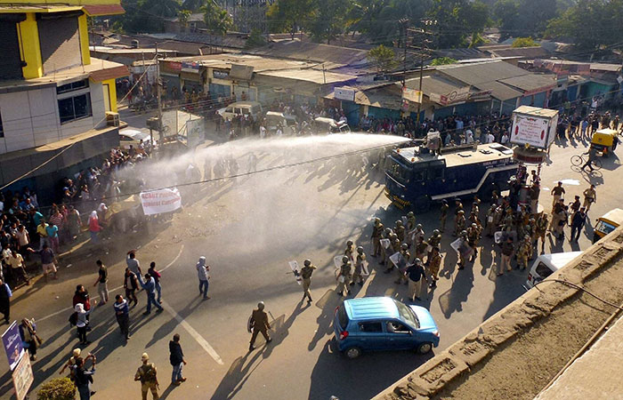 Protest in Manipur