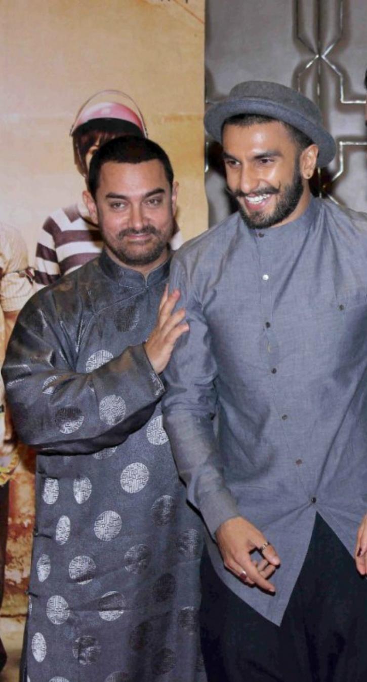Aamir and Ranveer