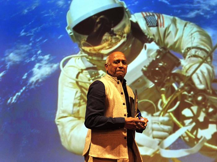 cosmonaut Rakesh Sharma