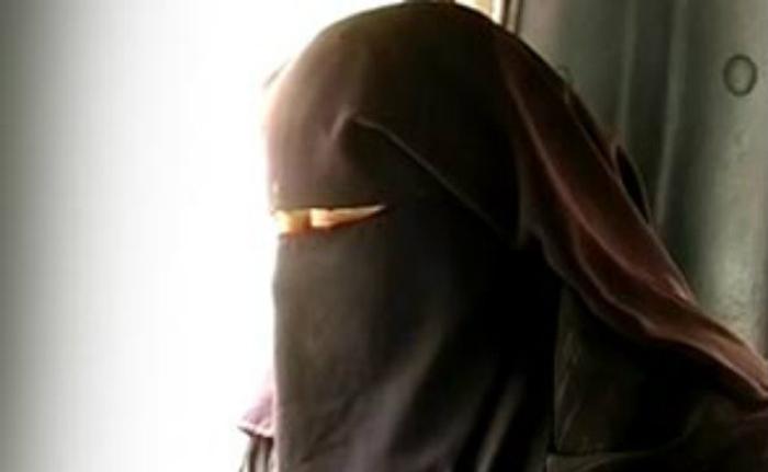 Burqa teacher