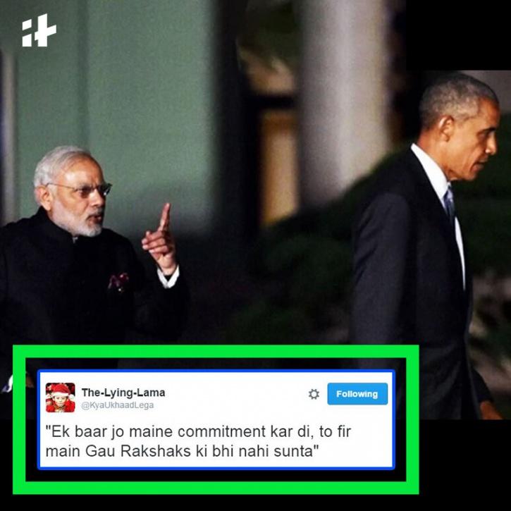 Modi, Obama