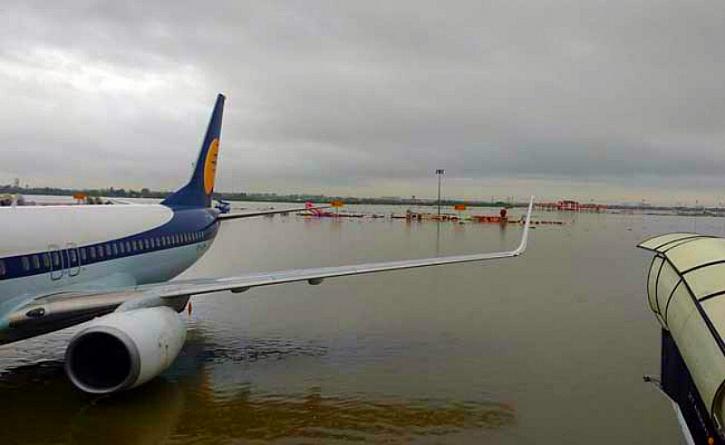 Chennai flood flight