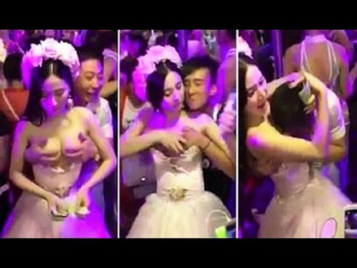 china groping wedding