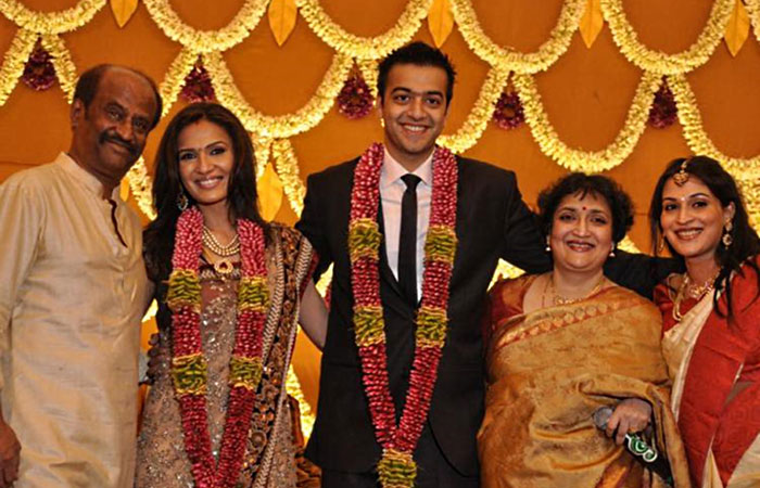 Rajnikant Daughter Marriage
