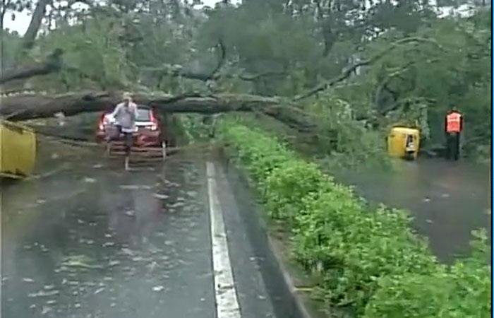 Cyclone in Chennai
