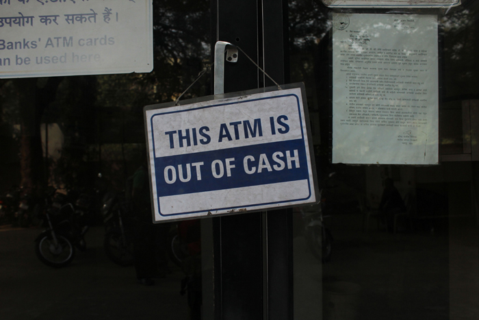 ATM not working