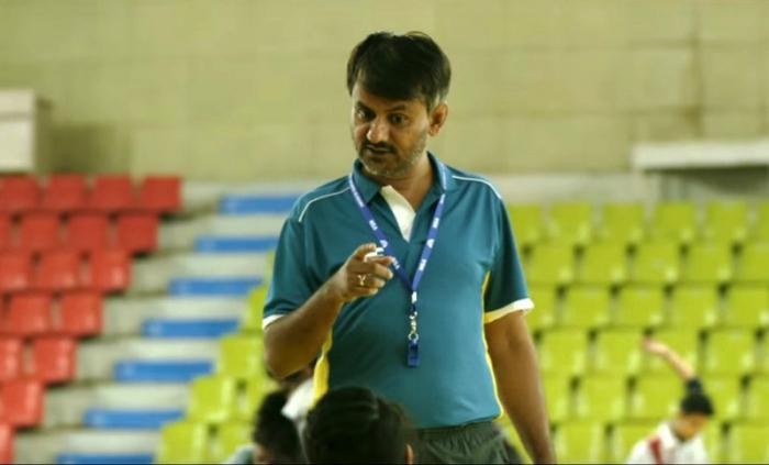 Girish Kulkarni as coach in Dangal.