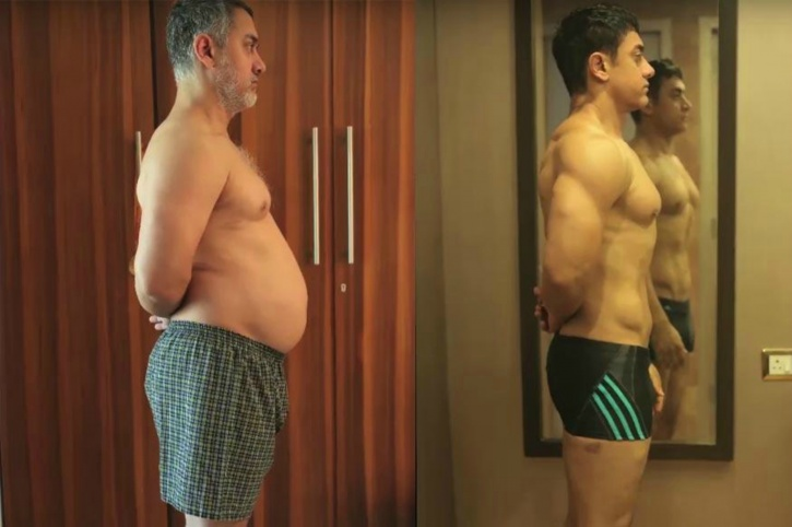 Aamir fat to fit