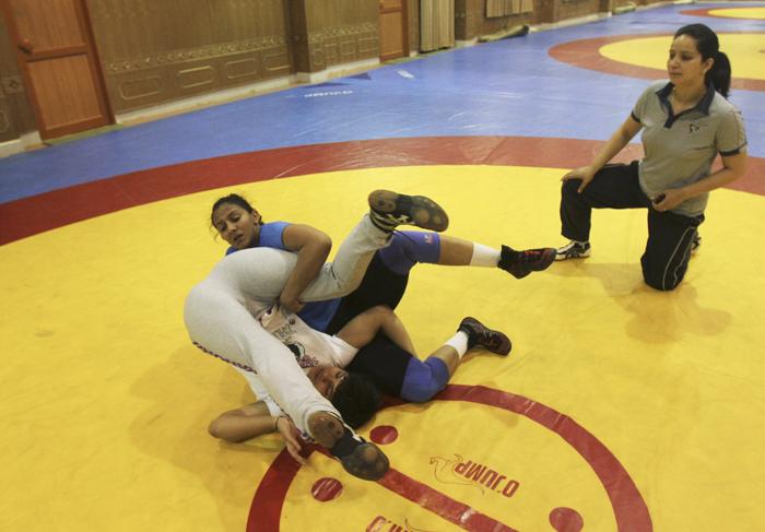 Geeta fighting