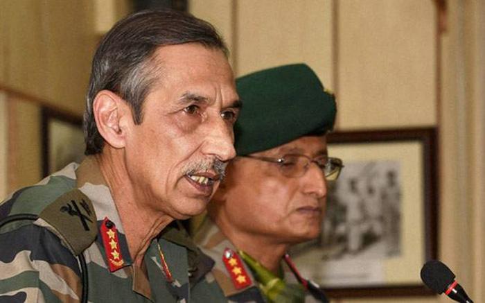 Northern Army Commander Lt Gen DS Hooda
