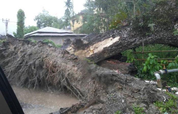 Storm Hits Andaman
