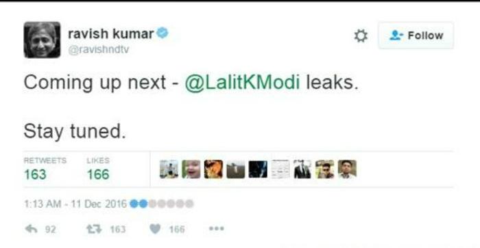 Lalit Modi Hack Legion Anonymous