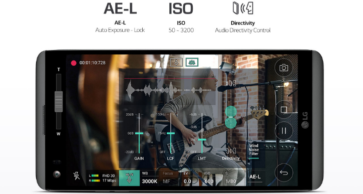 LG V20 audio