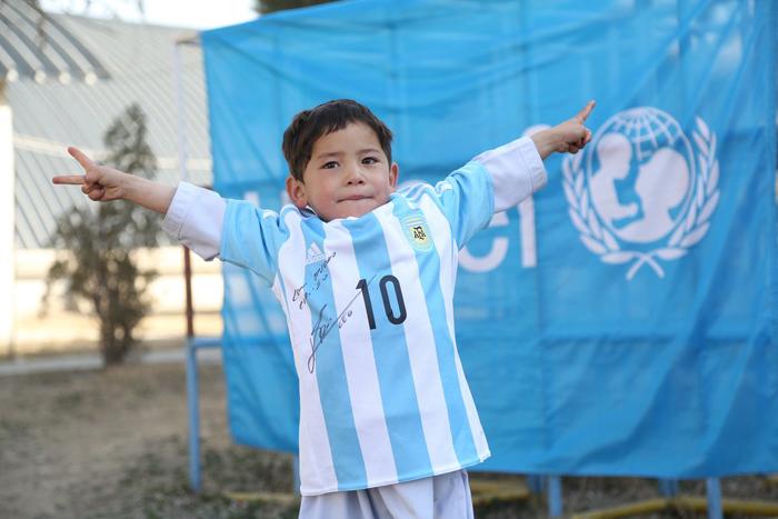 Murtaza in Argentina shirt