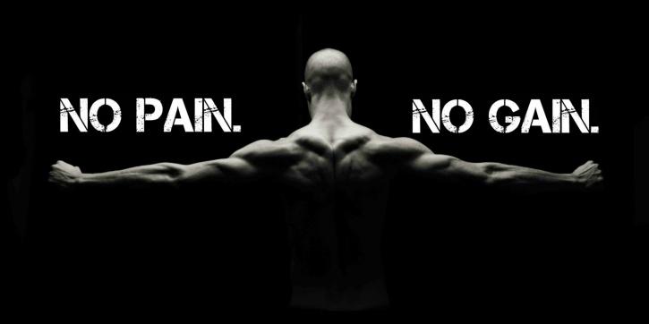 No pain, no gain Aamir