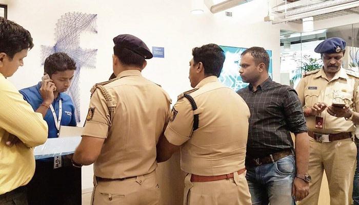 Cops search Facebook