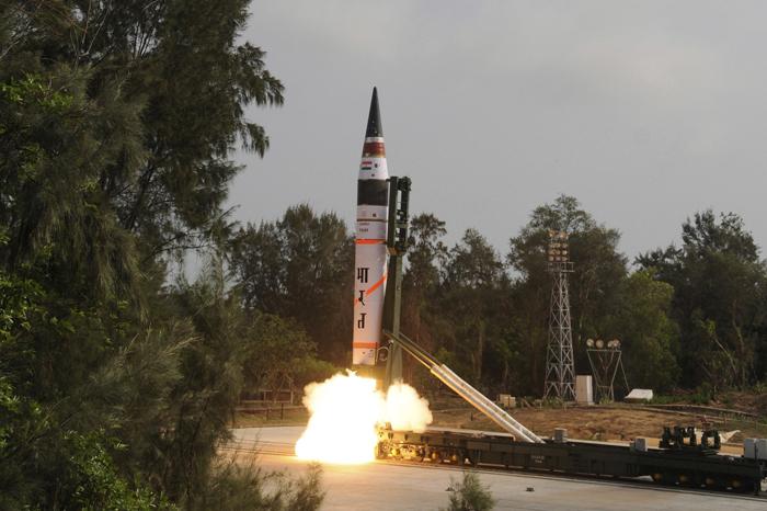 Test Nuclear-Capable Agni-V ICBM