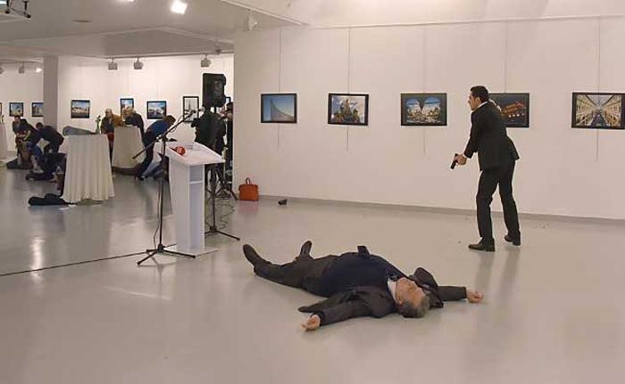 Russian envoy killed