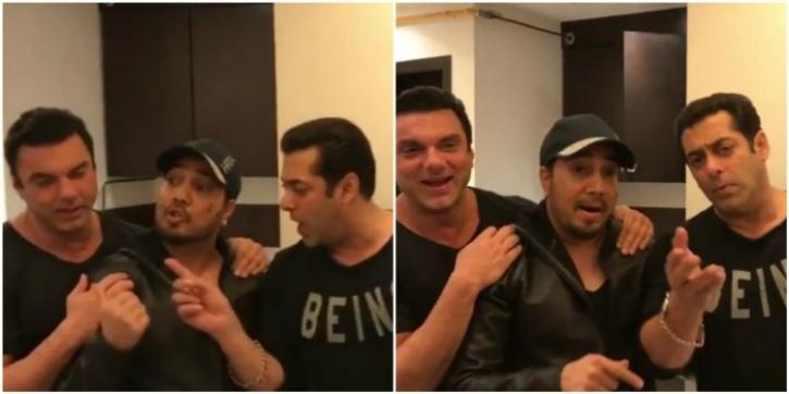 Salman and Mika