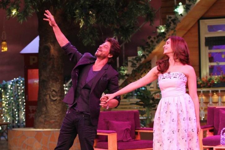 SRK and Alia Bhatt