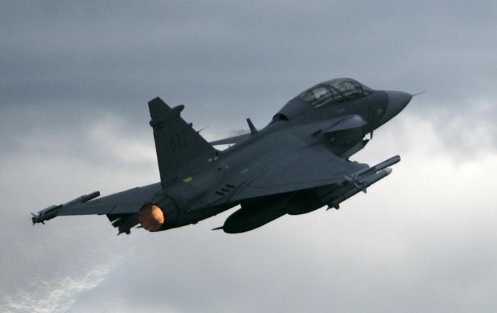 Swedish Saab Gripen