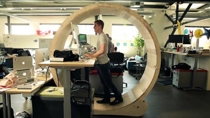 Get a standing work desk