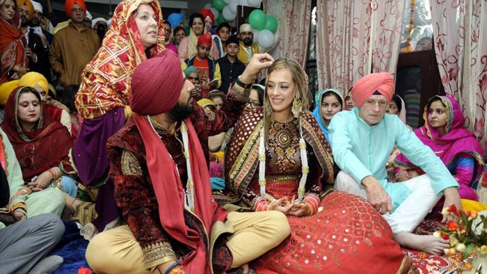 Yuvraj and Hazel Wedding