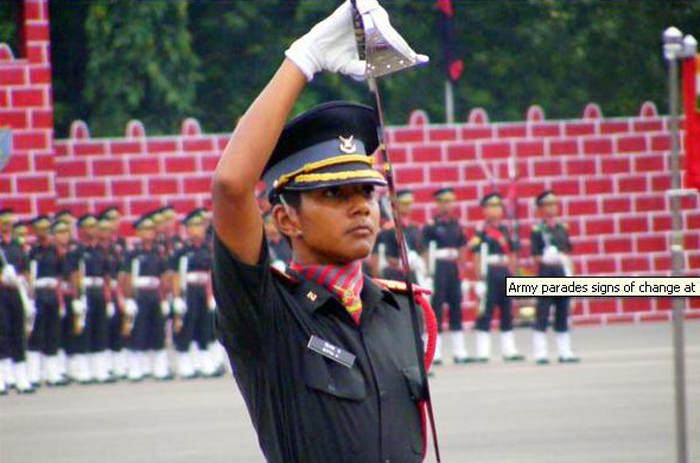 First Lady Cadet To Bag The Prestigious Sword Of Honour, Has Inspired Women